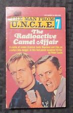 1966 THE MAN FROM UNCLE #7 FVF 1st Ace Paperback The Radioactive Camel Affair