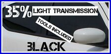BLACK 40% LIGHT TRANSMISSION CAR WINDOW TINTING FILM 3m X 75cm TINT + FREE KIT