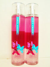 Bath Body Works PARIS AMOUR Triple Silk Body Oil Mist 8 oz/236 mL NEW x 2