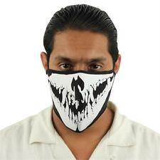 Goulish Skull Half Mask - Airsoft - Paintball - Motorcycle - NEW - Mask11