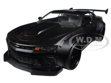 2016 CHEVROLET CAMARO SS WIDE BODY W/ GT WING PRIMER BLACK 1/24 BY JADA 98139