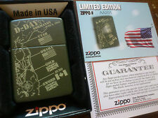 Limited Edition ZIPPO Lighter in Orig. Box World War II 2 - D-DAY NORMANDY 1944!