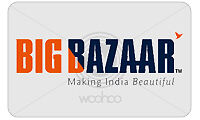 Big Bazaar Gift Voucher Worth Rs.5000