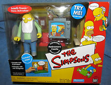Simpsons WOS RETIREMENT CASTLE w/JASPER Interactive Enviroment Talking MIB
