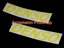 "2x 8.5"" 21.6cm DENSO decal sticker motogp WRC Subaru WRX iridium spark plug car"