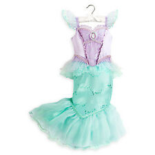 NWT DISNEY STORE Princess The Little Mermaid Ariel Halloween Costume Girls 9/10