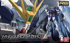 BANDAI RG W Endless Waltz 1/144 XXXG-00W0 Wing Gundam Zero EW Scale Kit New JP