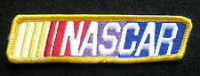 """NASCAR EMBROIDERED SEW ON ONLY PATCH RACE RACING BADGE UNIFORM 4 1/4"""" x 1"""""""