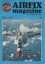 AIRFIX Magazine for Modellers April 1980 -  2cm FLAK 30 Story + Scale Drawings