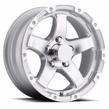 "NEW 15"" Aluminum T08 Silver Trailer Wheel/Rim 5 on 4.5 CustomTrailerWheels.com"