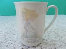 """1989 Precious Moments Enesco """"Teacher"""" Cup Mint Condition Used for Display Only"""