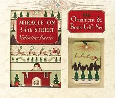 Miracle On 34th St New Hardcover Book & Keepsake Ornament Gift Set Gift Boxed
