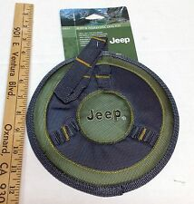 JEEP RUFF 'N TUFF FLYING DISC DOG TOY Nylon, FREE SHIPPING!