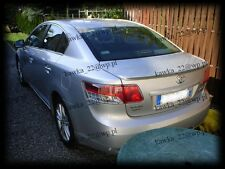 Toyota Avensis III 3 gen T27 Saloon Sedan Rear Boot Lip Spoiler ~PRIMED~