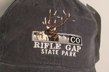 Rifle Gap State Park Colorado Boating Moose Fishing USA Embroidered Hat Cap New