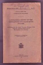 State Of NY Survey Of The Oswegatchie & Black River Systems Color Fish Plates