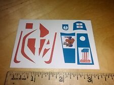 """EVEL KNIEVEL"" STUNT CYCLE STICKERS"