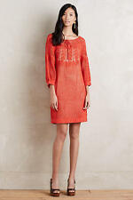 NEW ANTHROPOLOGIE Coral Crochet Dress S Small by Korovilas Free People