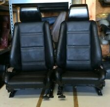BMW e30 325/318 New Black Front Seats Pair For Convertibles (1982-91) $1300.00