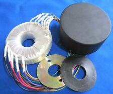 Tube Amp Power Transformer & Cover - 50VA 120V-100V-0 & 6.3V+6.3V p/n AS-05T120C