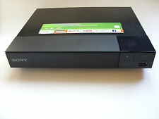 Sony BDP-S1500 HD Smart Blue-ray  Player And Streaming Internet Clean An Tested