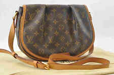 Authentic  Louis Vuitton Monogram Menilmontant PM Shoulder Bag M40474 #S4536