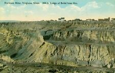 Virginia, MN The Norman Mine, 300 ft ledge of solid Iron ore