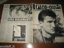 IL CALCIO E CICLISMO ILLUSTRATO 1963/13=SORMANI=TURCHIA ITALIA 0-1=