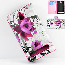 Flip Card Holder Leather Cover Case Accessories For Sony Xperia E1 D2004 / D2005