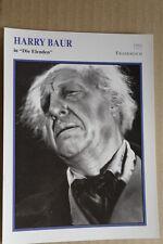 (S40) STARFILMKARTE - Harry Baur - Die Elenden