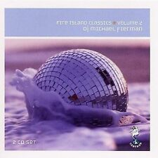 DJ MICHAEL FIERMAN-Fire Island Classics Vol. 2 CD Oct-1999 2 Discs Centaur DANCE