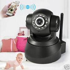 WIFI Wireless Pan Tilt 720P HD Baby Monitor Home IP Camera Webcam Night Vision