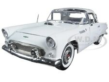 1956 FORD THUNDERBIRD WHITE TIMELESS CLASSICS 1:18 DIECAST CAR BY MOTORMAX 73176