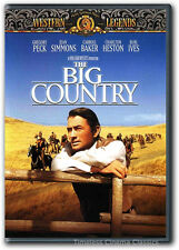 The Big Country DVD New Gregory Peck, Jean Simmons, Charlton Heston