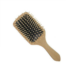 Best Wooden Comb Vent Paddle Brush Keratin Health Hair Care Massage Anti Static
