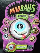 Retro MAD BALLS  OCULUS ORBUS Foam EYE Ball 1st Edition #06 +bonus XCAP MadBalls