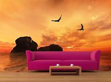 Eagles flying 3D Mural Photo Wallpaper Decor Large Paper Wall