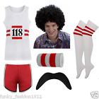ADULTS MENS LADIES 118 COMPLETE OUTFIT MARATHON RETRO FANCY DRESS COSTUME LOT