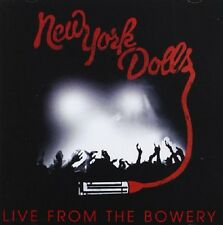 New York Dolls Live From The Bowery CD+DVD NEW SEALED 2012 Personality Crisis+