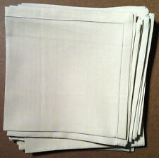 Noel (Paris) - Napkins - Satin Stitch Ecru - Square 17 x 17 inches