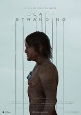POSTER DEATH STRANDING HIDEO KOJIMA NORMAN REEDUS GAME VIDEOGAME GIOCO PS4 #6