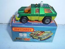 MATCHBOX SUPERFAST #59e PLANET SCOUT CRUSHED BOX PLEASE SEE PHOTOS