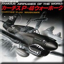 Aircraft Book USA P40 Curtis P-40 P 40 Warhawk WW2 China Airforce Army Marines