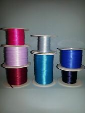 1/16 inch DOUBLE FACED WOVEN SATIN  RIBBON 5 YDS   MINIATURE CRAFT