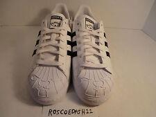 Adidas Superstar NIGO Bearfoot White Black Mens Shoes Yeezy S83387 Size 12.5