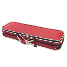 SKY 4/4 Full Size Violin Oblong Case Lightweight with Hygrometer Sports Style