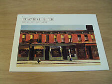 "1981 Art EXHIBITION Catalogue~""EDWARD HOPPER""~American Artist/Whitney Museum~"