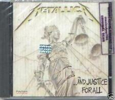 METALLICA ... AND JUSTICE FOR ALL SEALED CD NEW