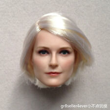 1/6 Head Sculpt beautiful Nordic European sexy girl fit hot toys kumik body