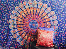 Indian Tapestry Wall Hanging Elephant Mandala Throw Hippie Gypsy Bohemian Boho